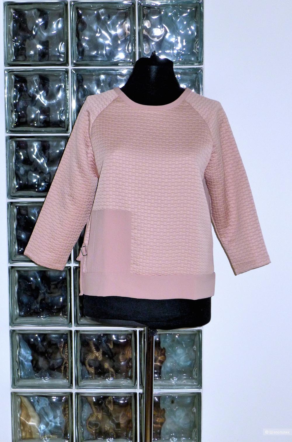 Блузка свитшот ZARA BASIC размер S