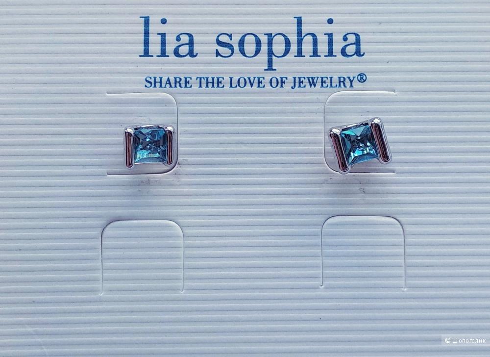 Серьги, Lia Sophia