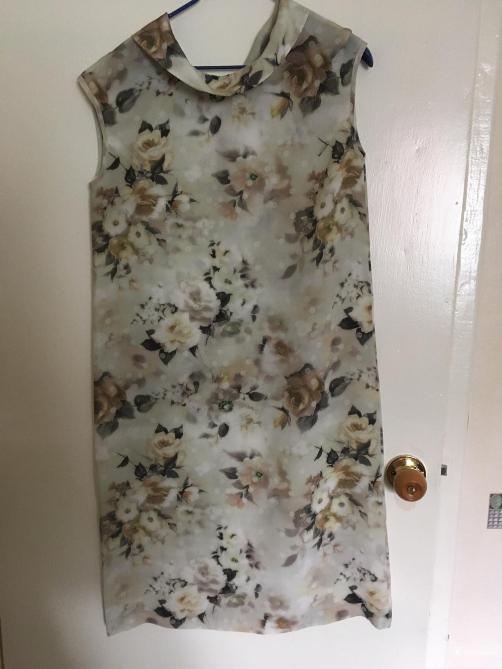 Платье из натурального шелка, Dino Chizari, S(44)