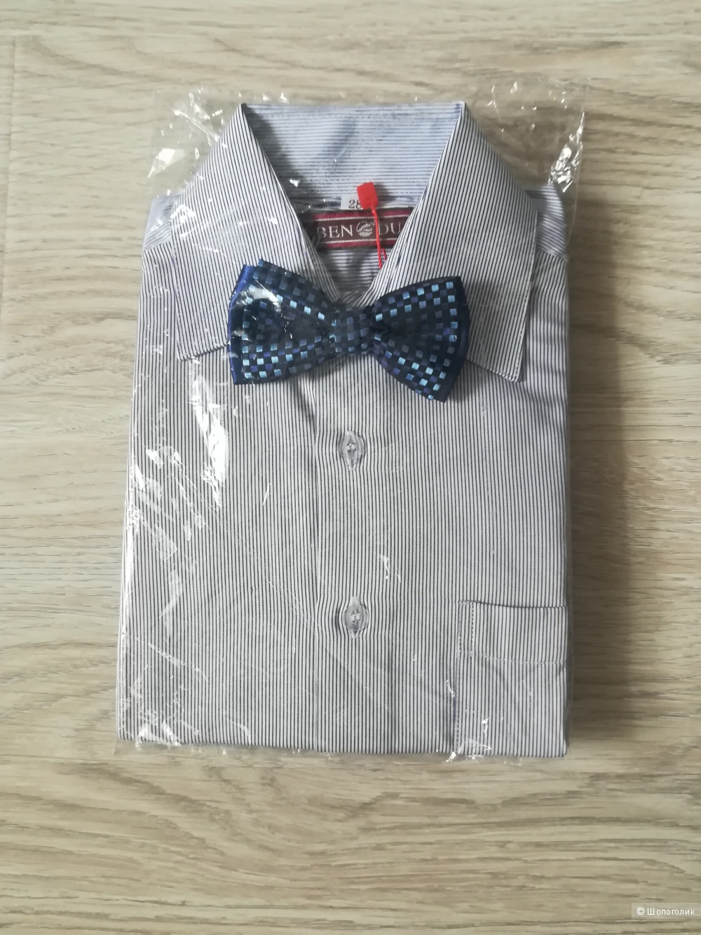 Детская рубашка с бабочкой BENDU размер 28