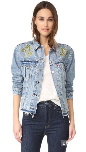 Джинсовая куртка Levi's, размер S