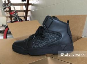 Высокие кожаные демисезонные кроссовки Guess, 43 размер