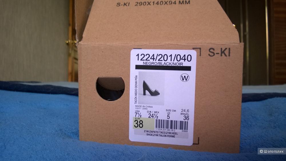 Туфли Zara, 38 размер