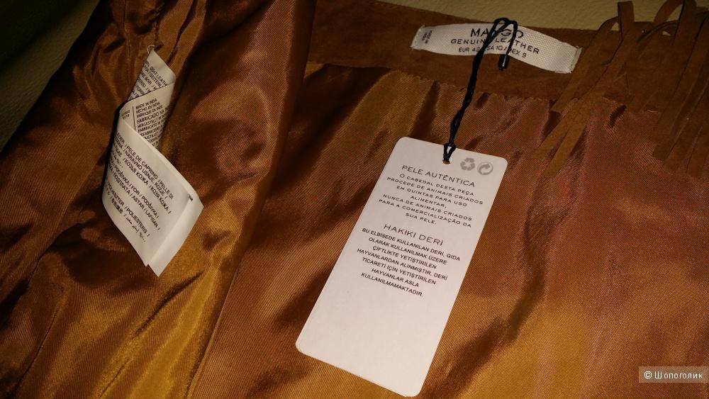 Кожаная юбка Mango,  46 - 48 р-р