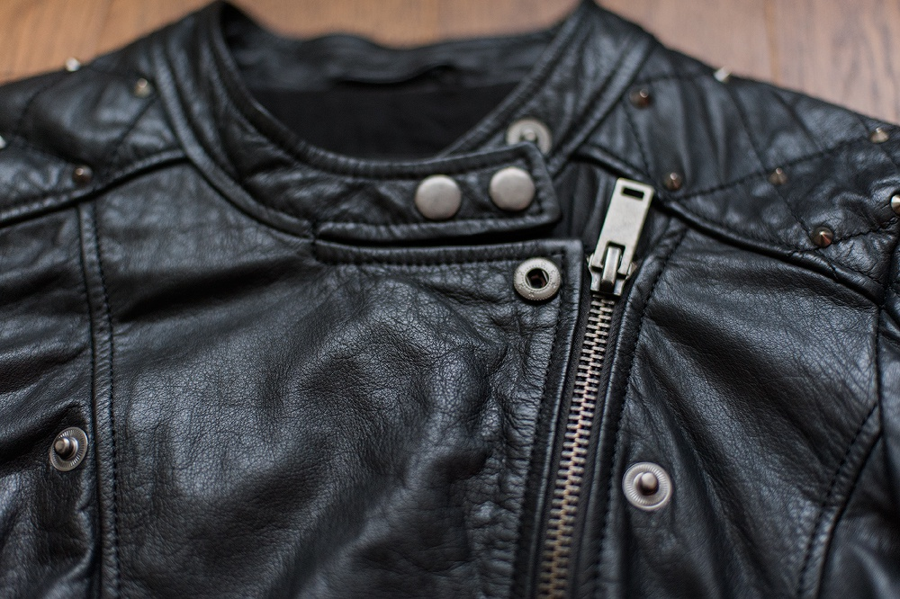 Кожаная куртка Mango p.S