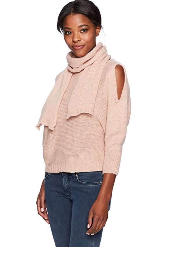 Сет: свитер  и шарф M  Made, M