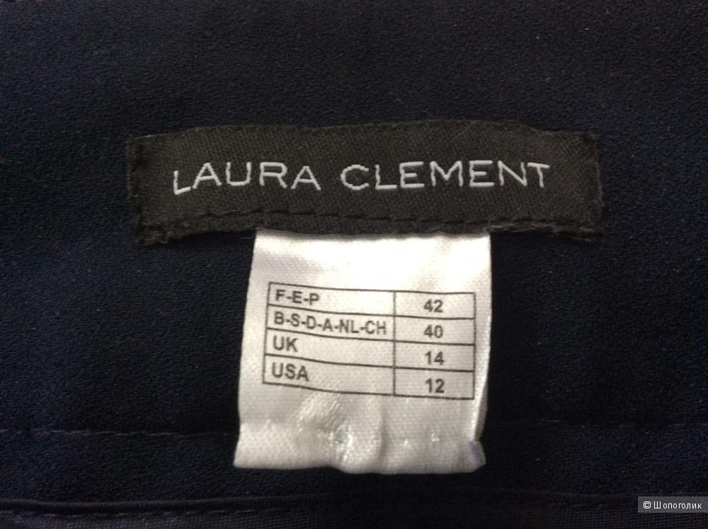Брюки-палаццо с экстра-высокой посадкой Laura Clement р.42FR (на 48-50)