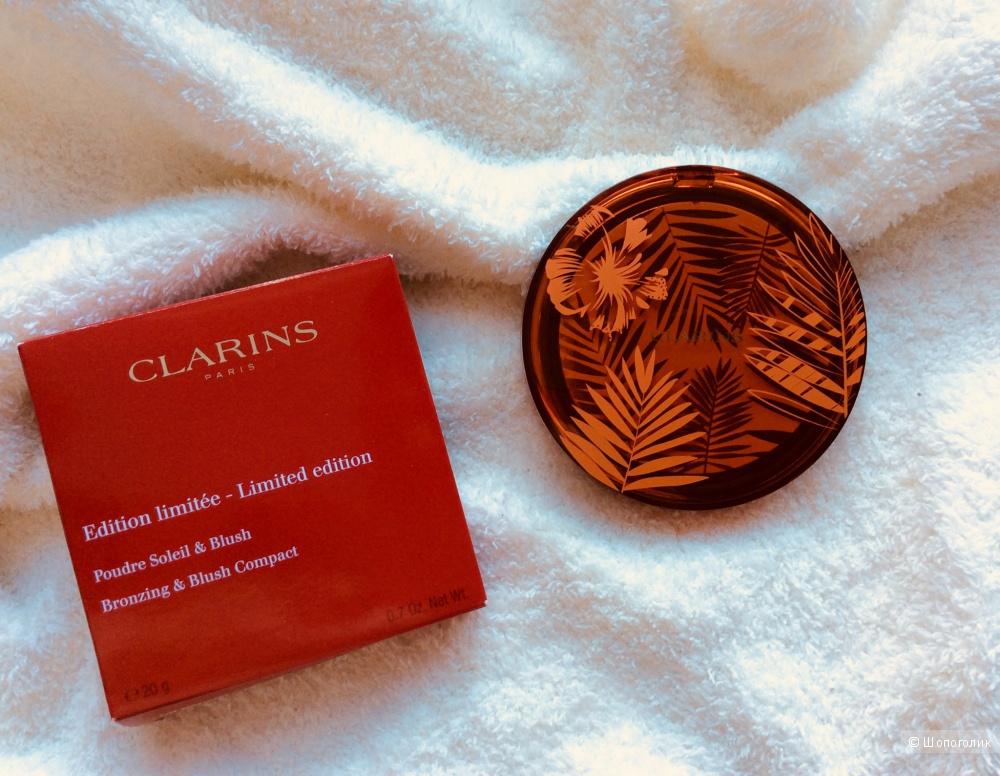 Лимитированная пудра-бронзер Clarins