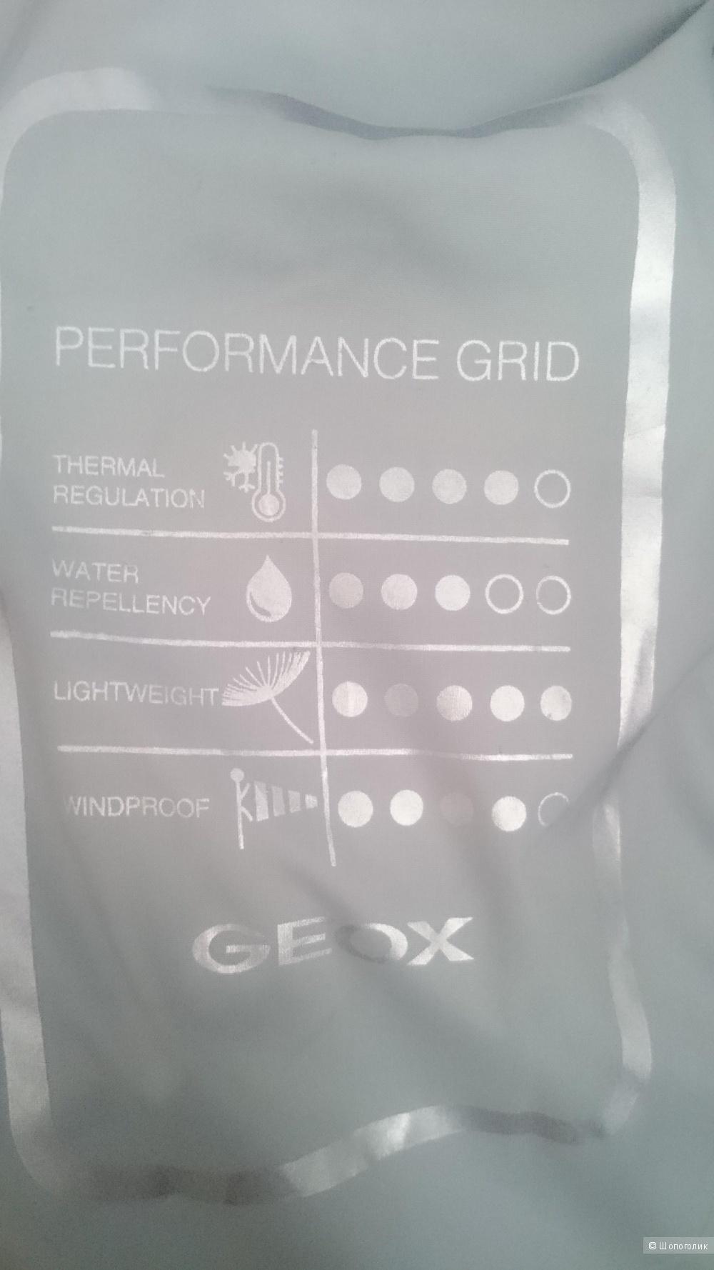 Легкий пуховик Geox р.48