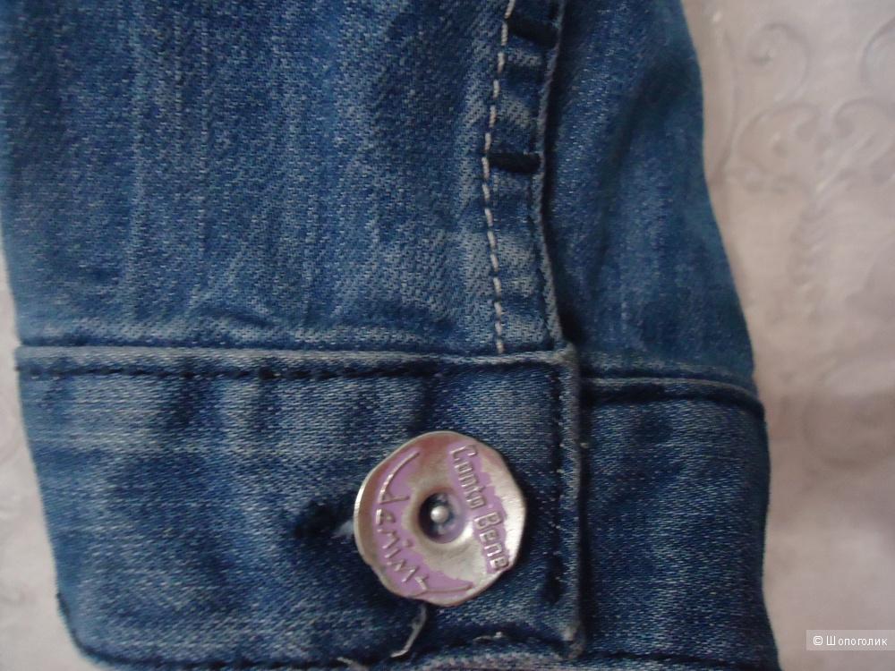 Джинсовая куртка Conto Bene  размер XL