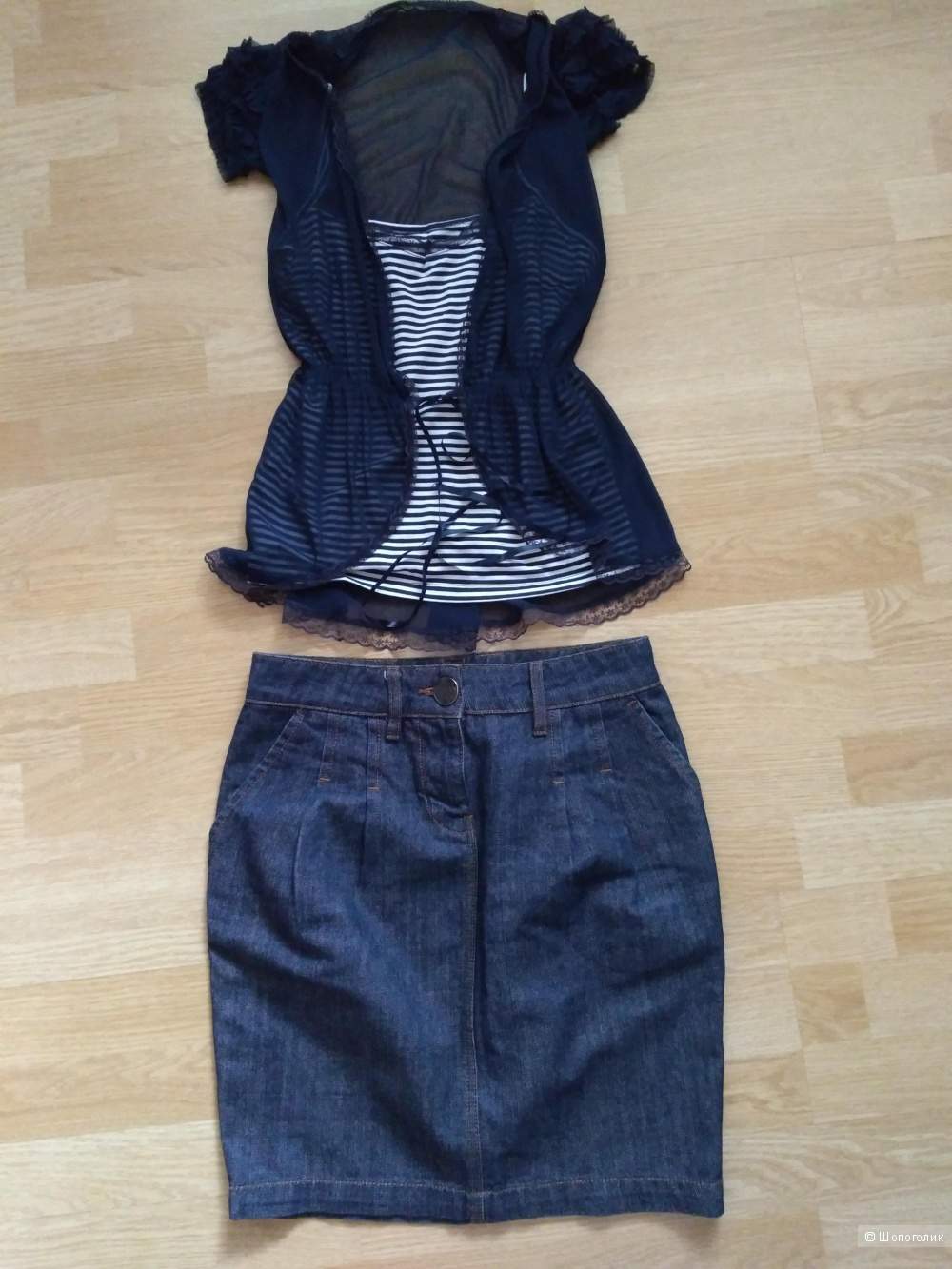 Комплект блузки и юбка Morgan размер 42-44