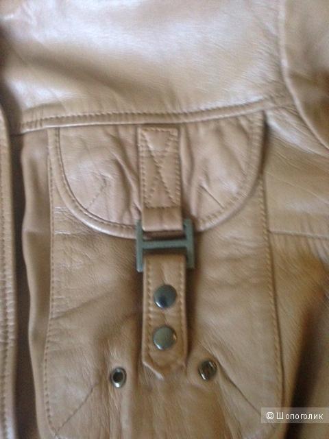 Кожаная куртка SHI,44D,48-50Russ