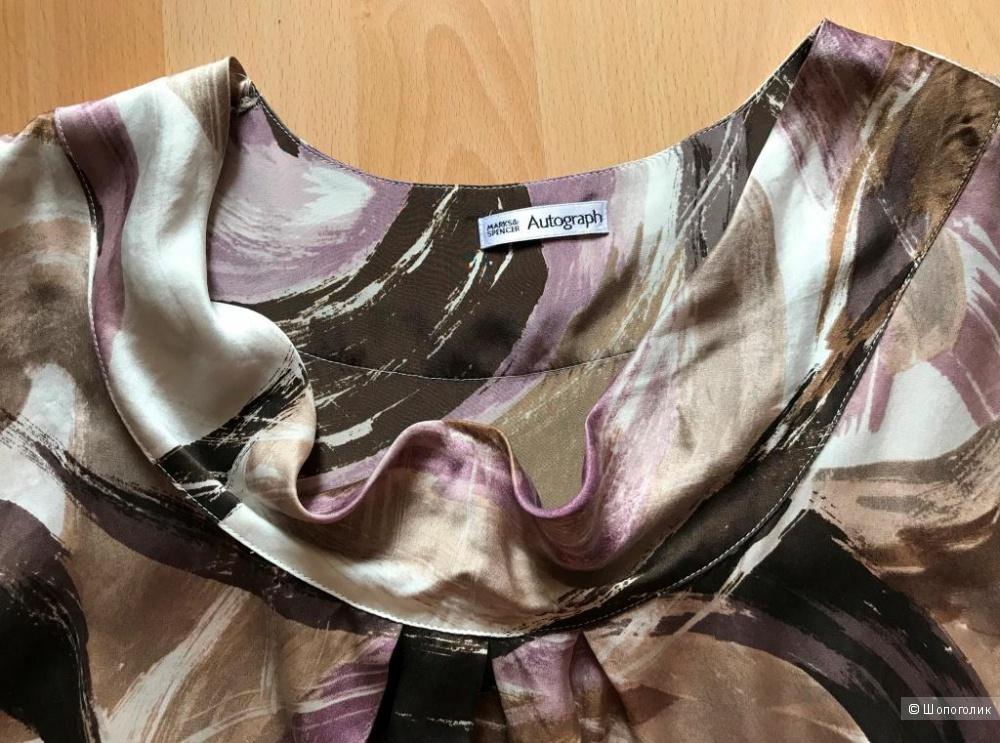 Шелковая блузка Marks & Spenser Autograph 46-48 рр