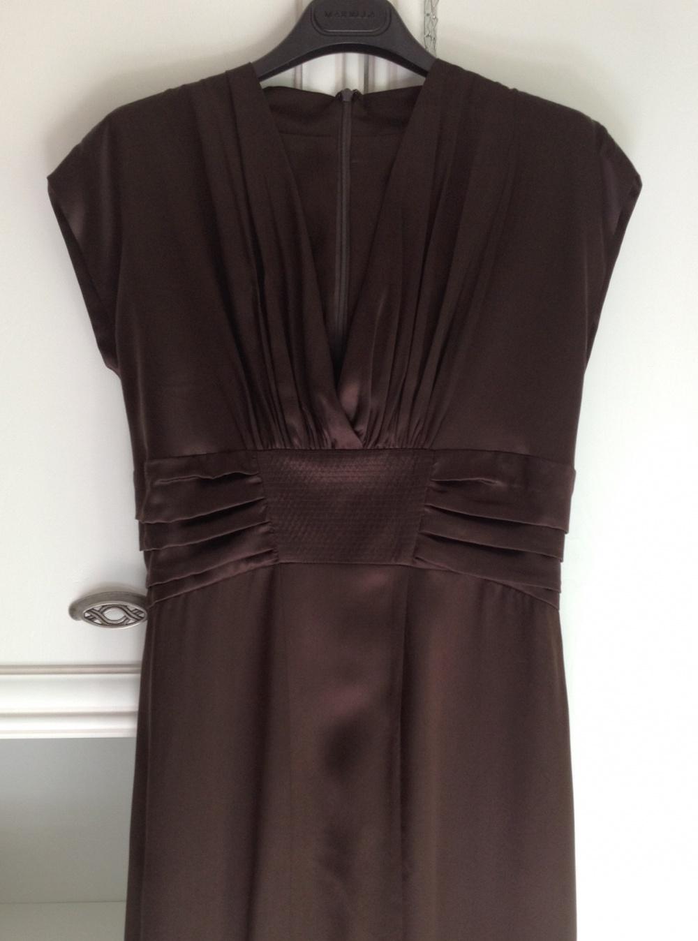 Шелковое платье Mariposa, размер 46.