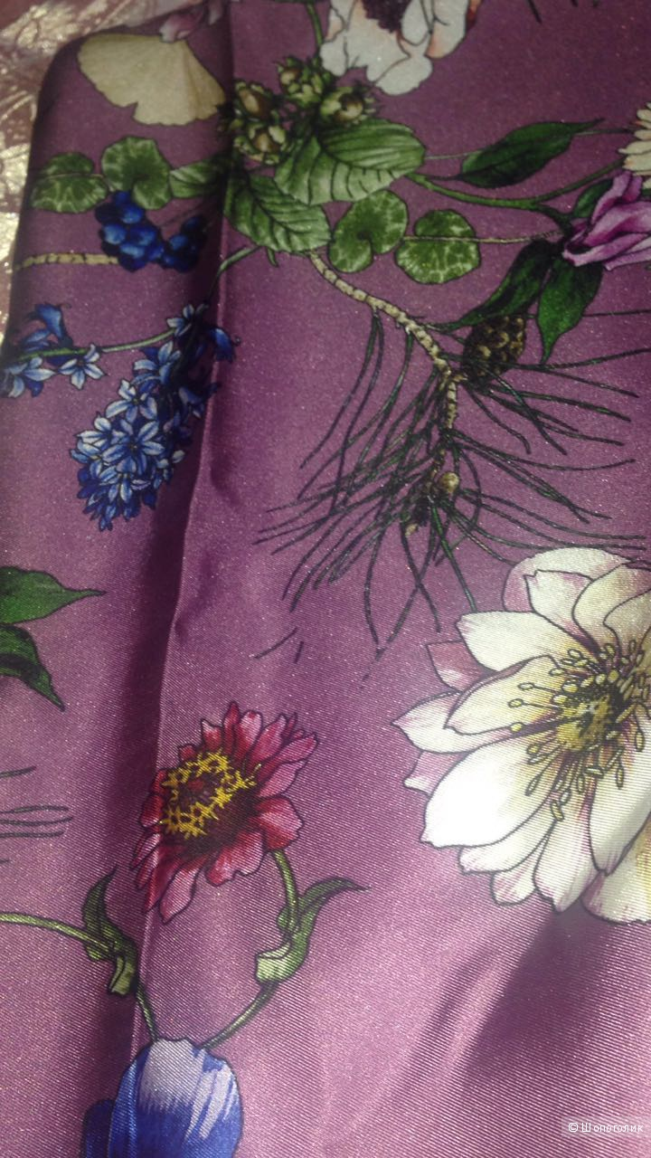 Шелковый платок от MILA ZB,90/90