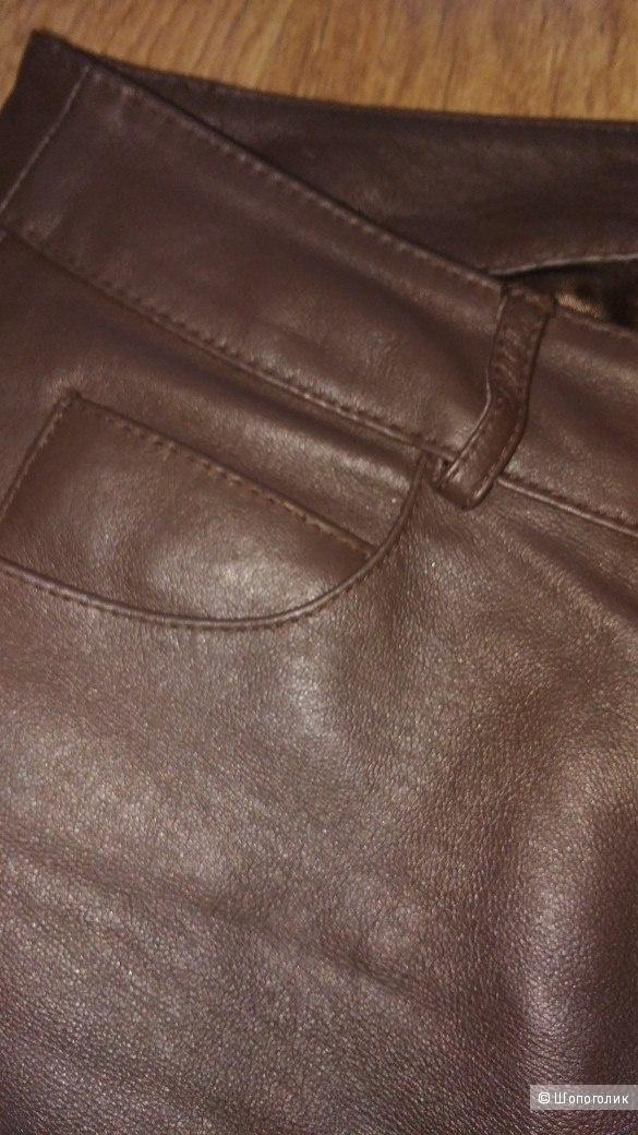 Брюки кожаные TOGETHER на 46 размер