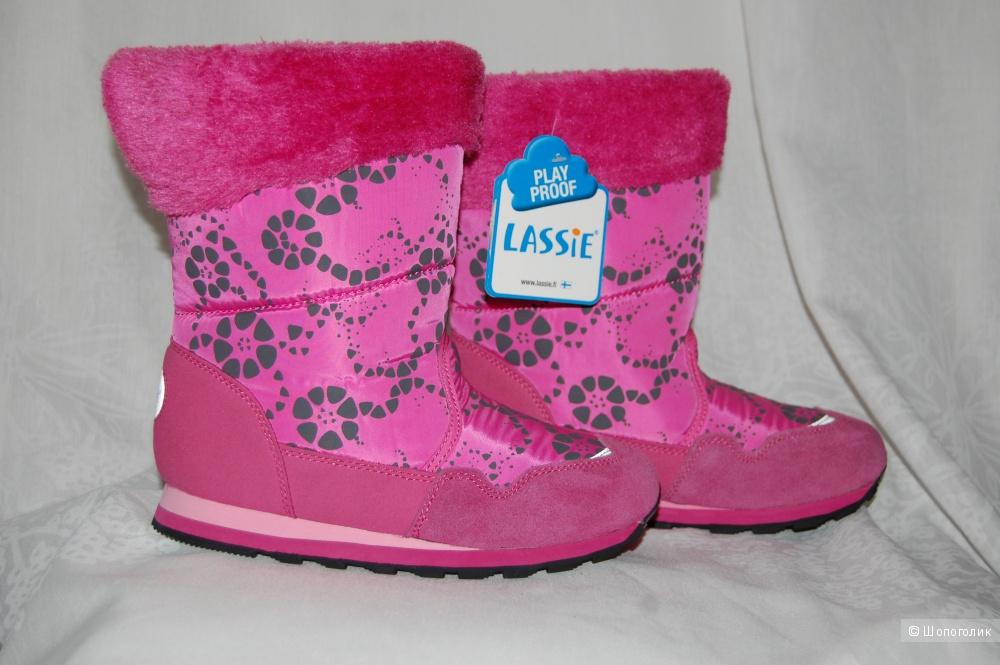 Зимние сапожки Lassie разм 34