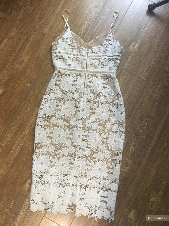 Платье кроше New look Premium Uk8