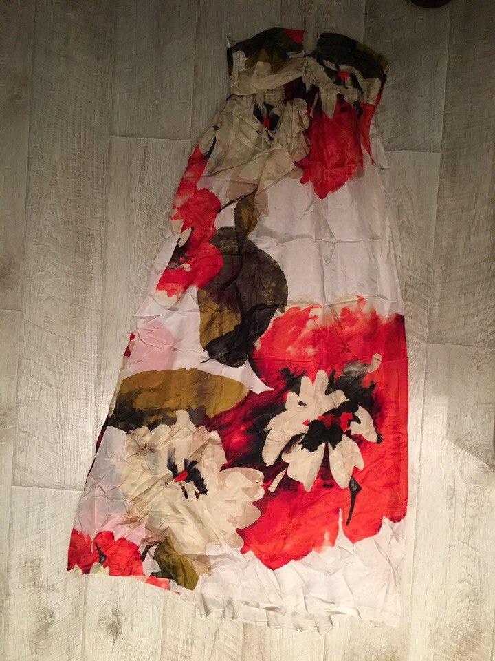 Шелковый сарафан Zara, размер S
