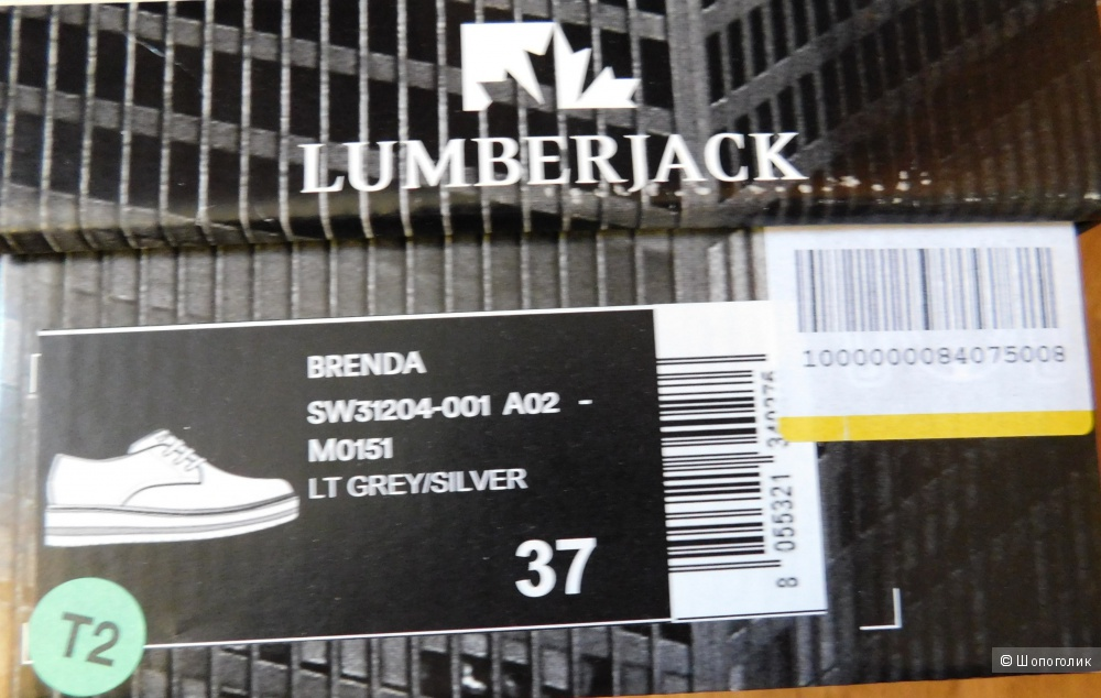 Туфли lumberjack  кожа, 37 размер