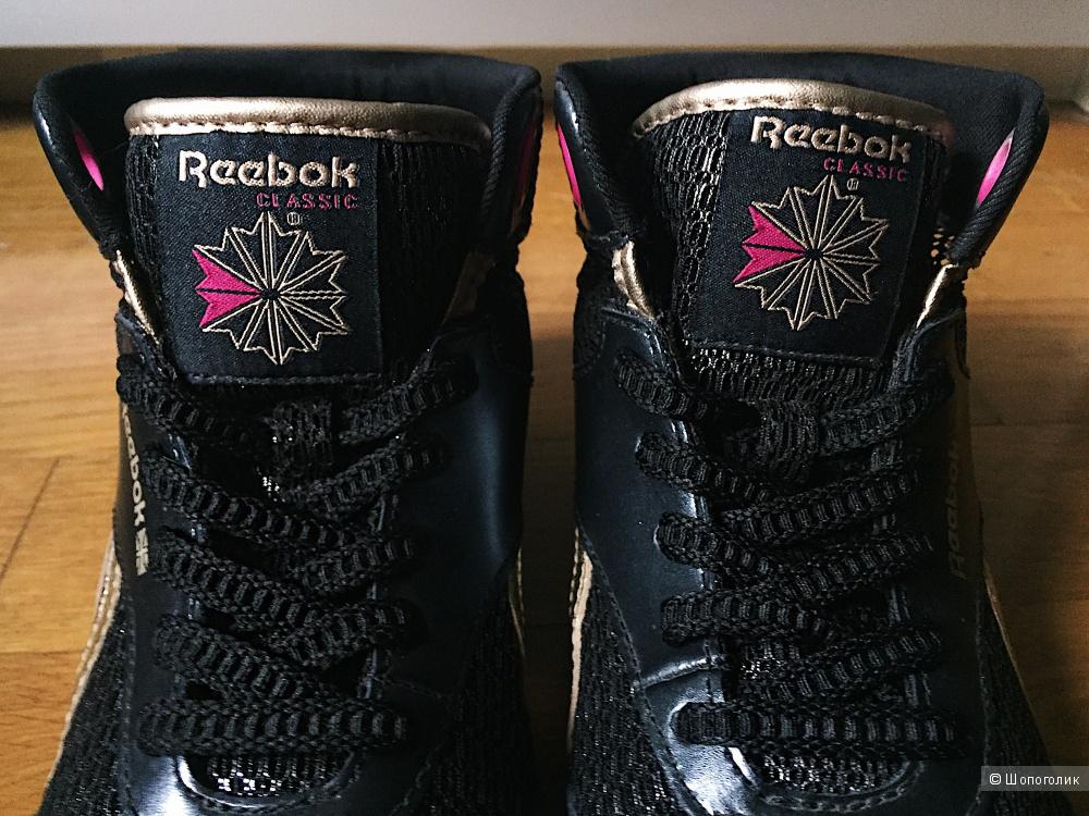 Кроссовки-хайтопы Reebok Classic, р-р 36,5