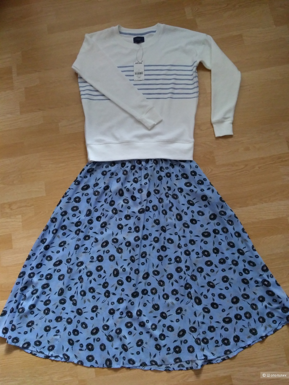 Комплект юбка и толстовка next размер 44