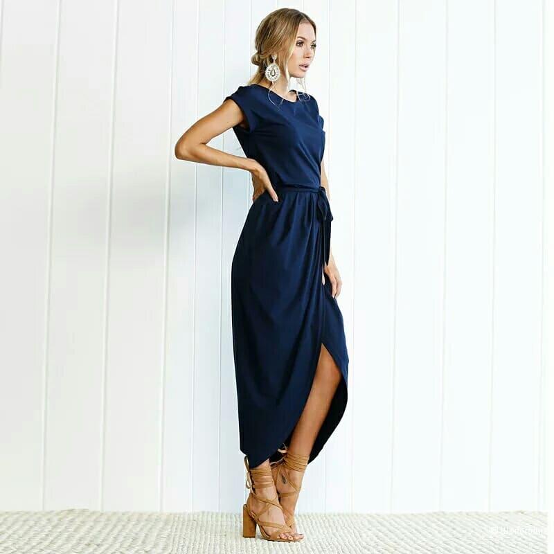 Платье серого цвета no name размер 42 рос