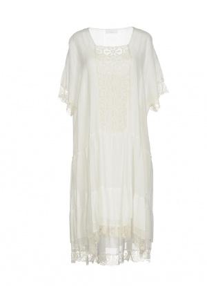 Платье PAROSH, шелк/хлопок, размер S на 44 рус.