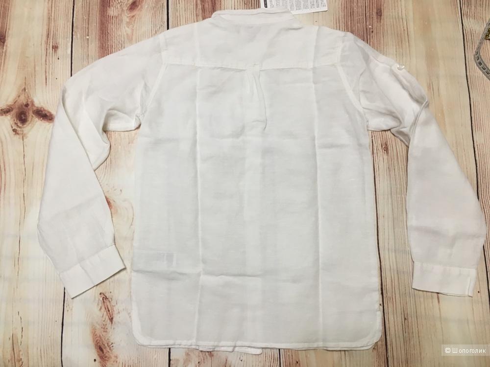 Льняная рубашка на мальчика MIRTILLO, 10 лет