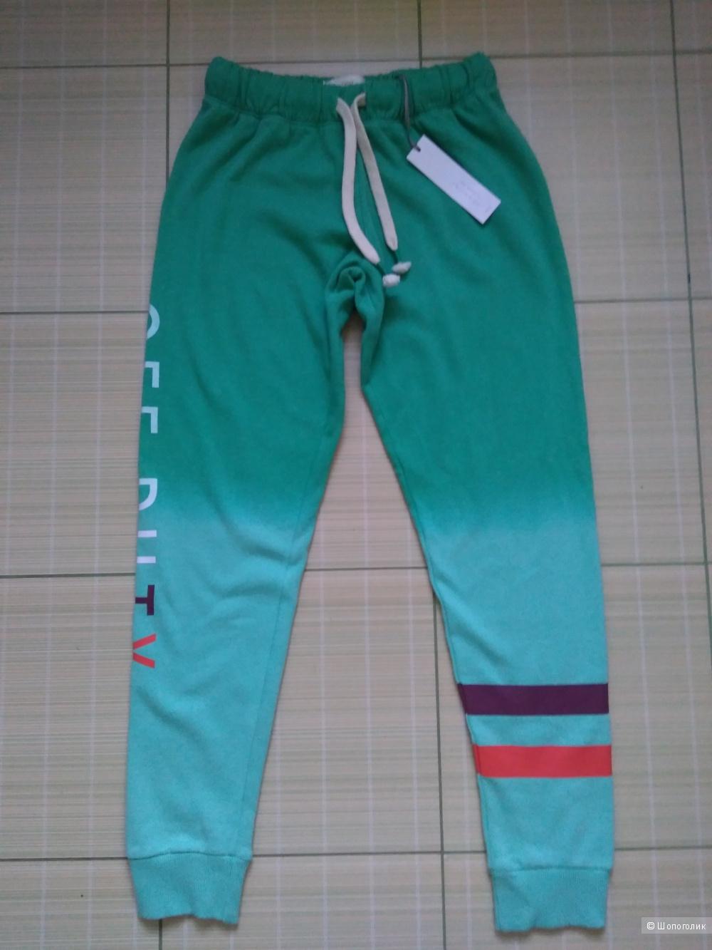 Спортивный комплект брюки, толстовка, футболка next размер 44-46