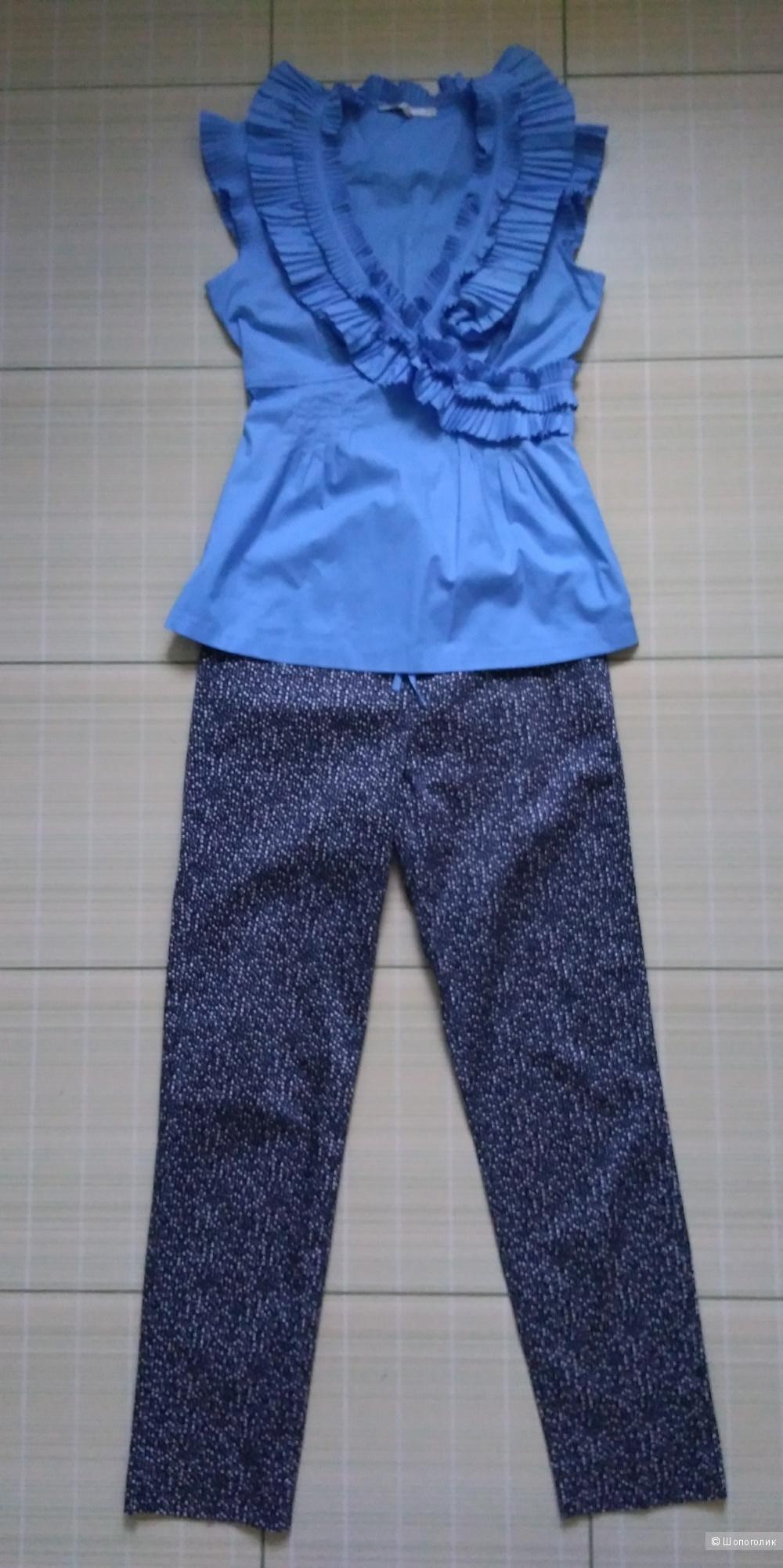 Комплект брюки и блузка размер s