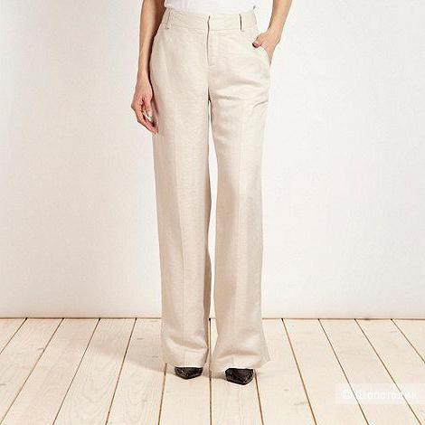 Льняные брюки-паллацо Fenn Wright Manson, размер 14. На рос. 50-52