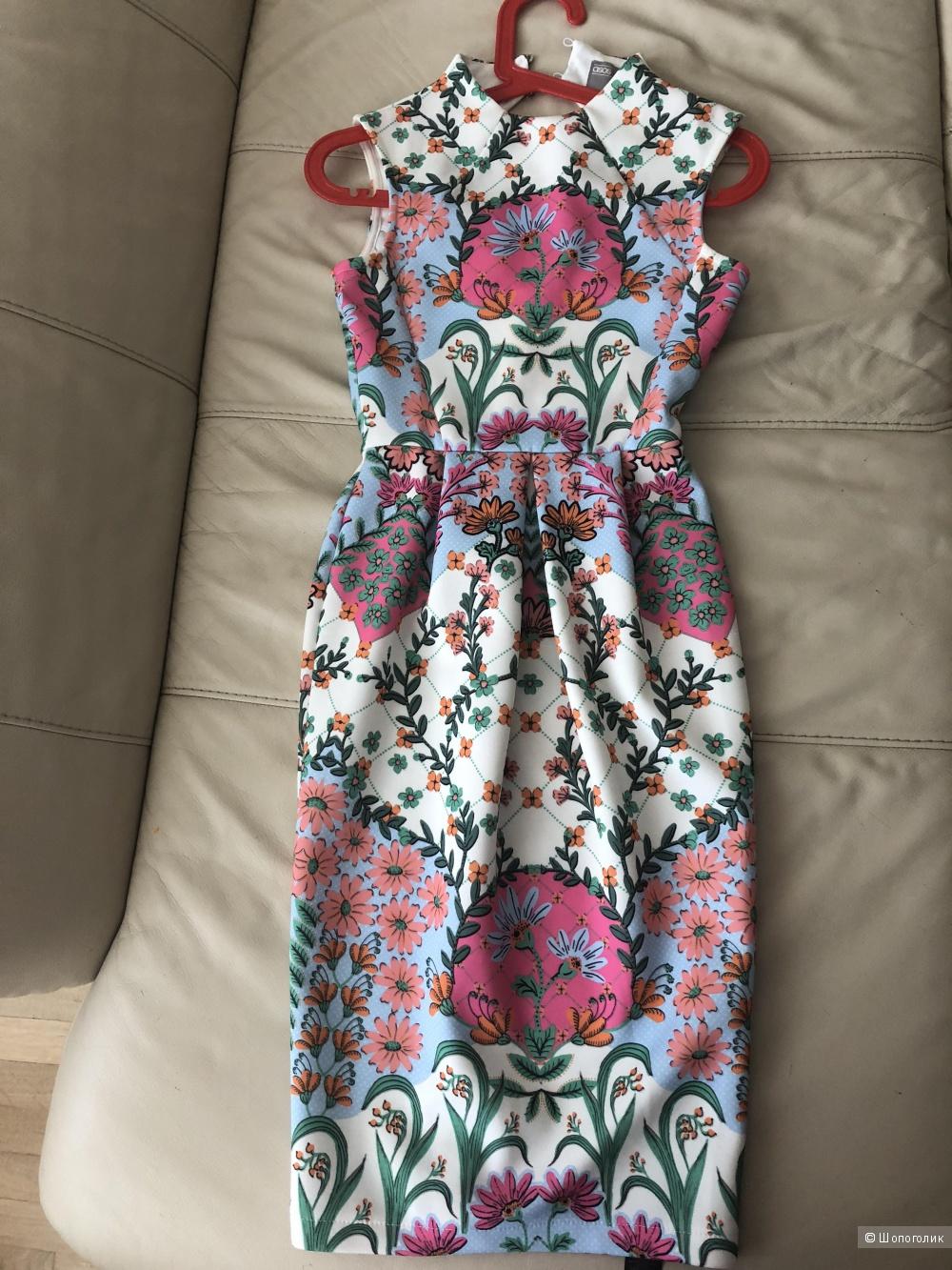 Платье ASOS  размер UK-4 или EU32 рос 40-42р