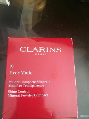 Clarins Минеральная матирующая пудра оттенок 03