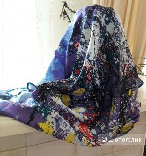 Шёлковый платок 100*100