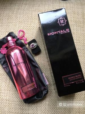 Селективный парфюм Montale Roses musk 75-80 мл.