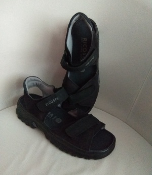 Босоножки = сандалии  RICOSTA, унисекс, размер 39