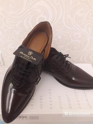 Massimo Dutti: туфли-броги, 38.5-39