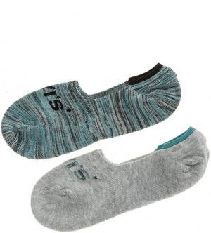 Комплект из двух пар хлопковых носков Levi's®, размер 39-42