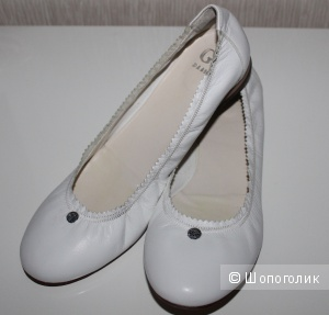 Кожаные балетки VERO CUOLO, размер 41