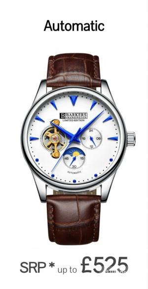 Часы наручные мужские Barkers of Kensington Limited edition