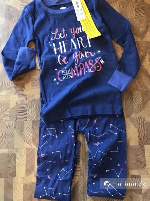 Пижама для девочки old navy, размер 4т