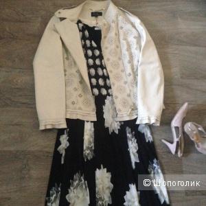 Кожаная куртка-косуха Luisa  Spagnoli  46-48
