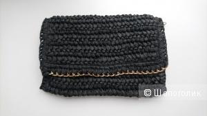 Плетеная сумка H&M, 24х17см
