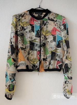 Блузка-бомбер Manigance Paris, 44 размер