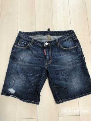 Джинсовые шорты dsquared2, размер 40-42 рос