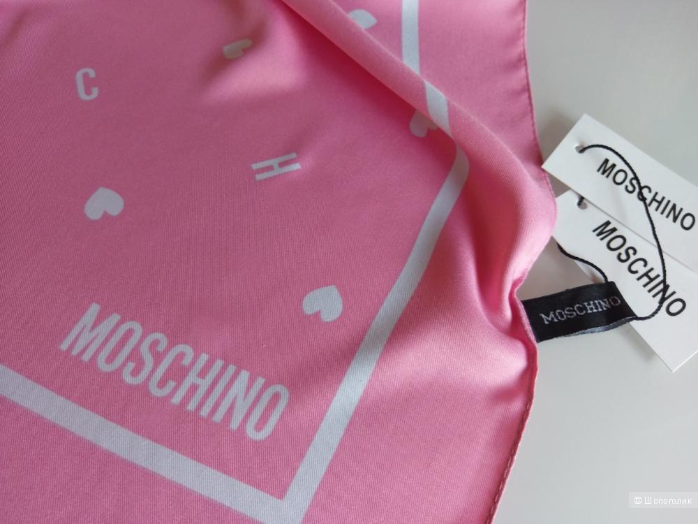Платок Moschino, 90*90 см.