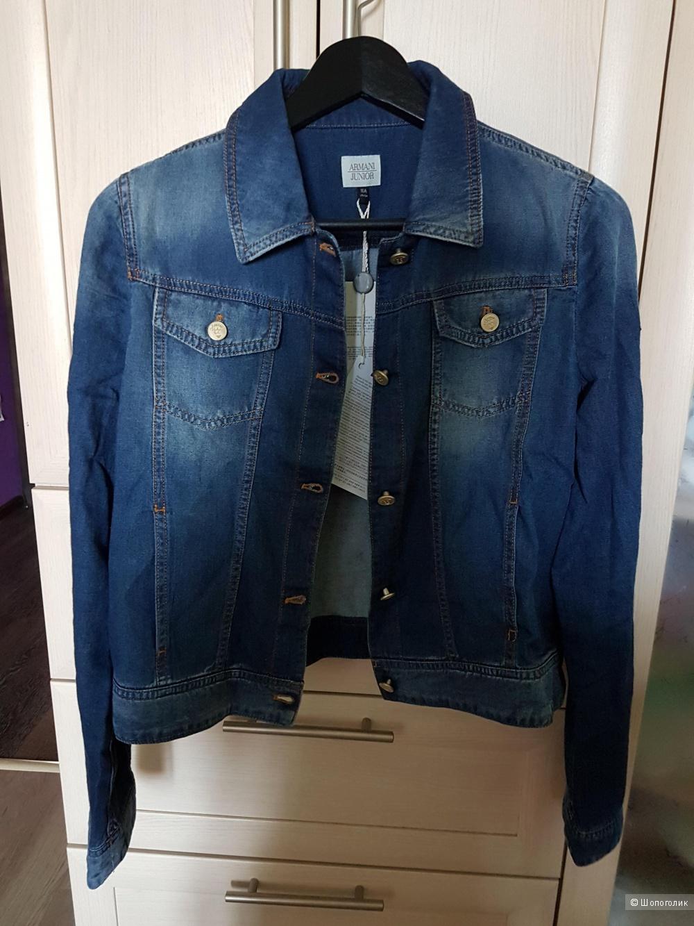 Джинсовая куртка Armani 16 лет