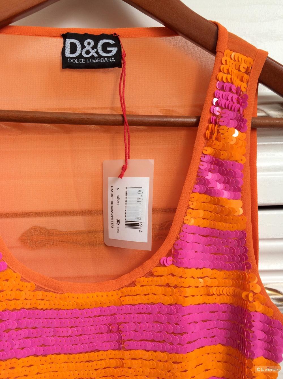 Блузка DG Dolce Gabbana,размер 42
