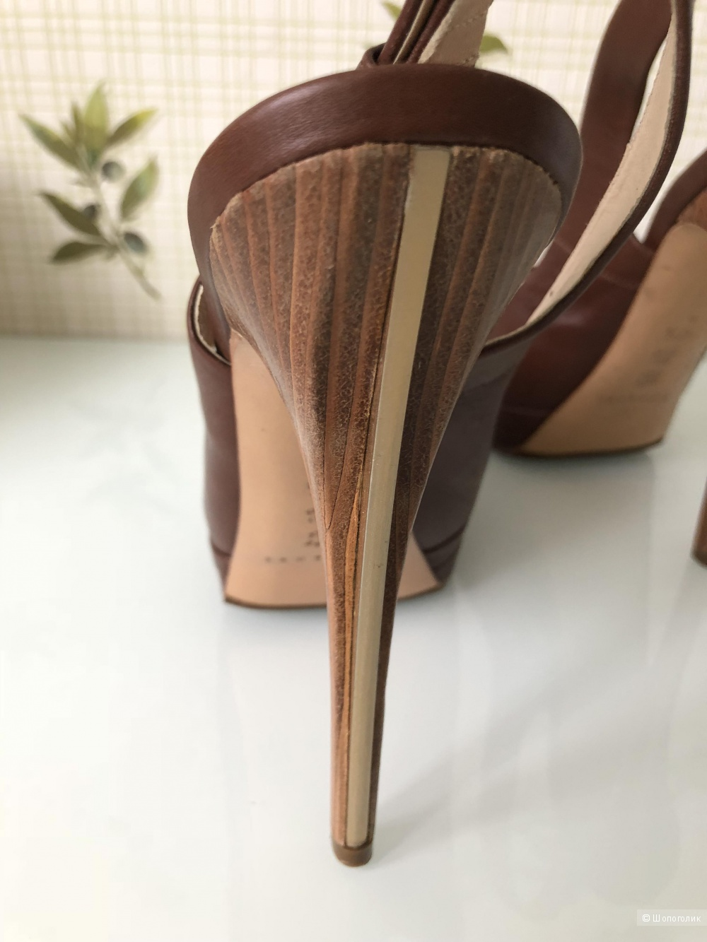 Босоножки Casadei, размер 37,5